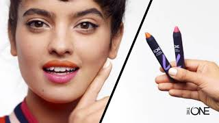 Oriflame India | Two Ways To Wear The One Express Lip Crayon
