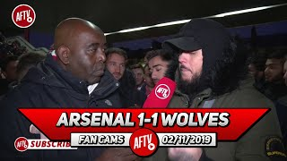 Arsenal 1-1 Wolves | I Don't Get Emery's Tactics Where Was Pepe?! (DT)