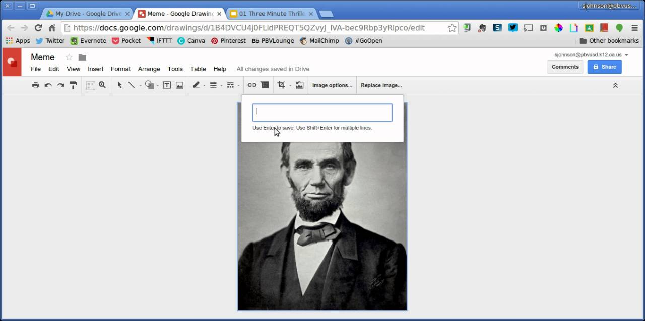 maxresdefault how to make a meme in google drawings youtube