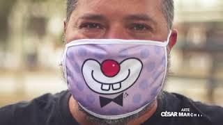Contagiando Sorrisos - Além de proteger, é preciso sorrir.