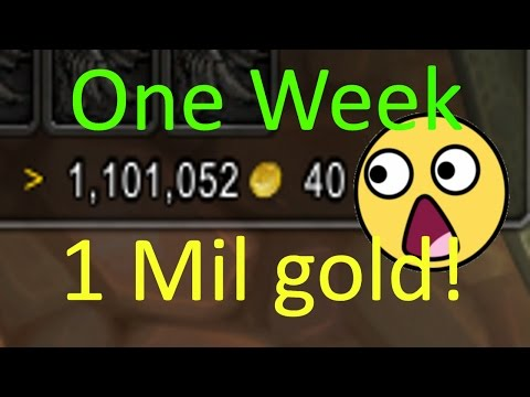 How I made 1mil gold in 1 week!(Gold Farming Legion)