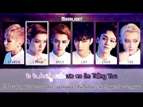 [Karaoke & Thai Sub] EXO-M - Moonlight (月光) Chinese Ver.