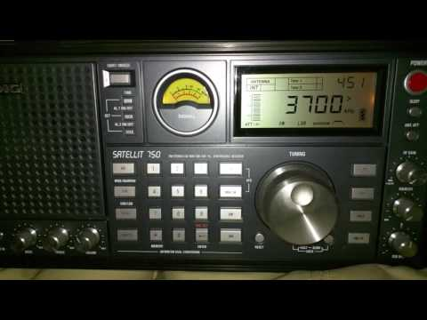 HAM radio chat on 3700 KHZ LSB - Alberta 04:50 UTC