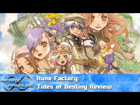 Rune Factory: Tides Of Destiny Review