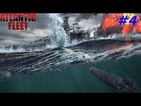 Atlantic Fleet. Прохождение за союзников#4. Опять подлодки рулят.