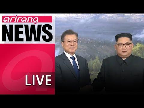 [LIVE/NEWS] President Moon touts development on N. Korea made from special envoys' trip to N. Korea
