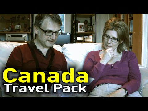 Herman's VLog: Canada Travel pack