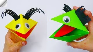 Moving paper TOYS | Easy paper crafts for kids