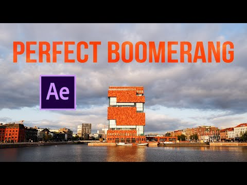How to make the perfect boomerang - After Effects tutorial