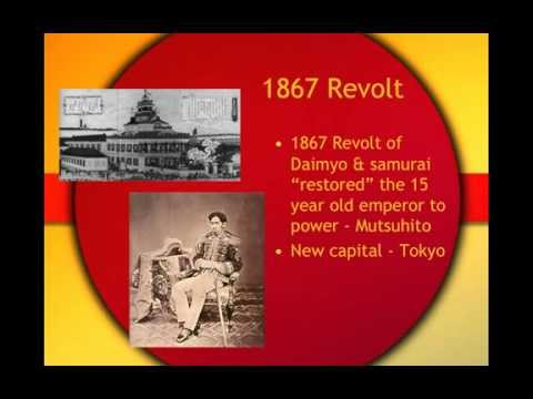 Rise of Modern Japan - The Meiji Restoration