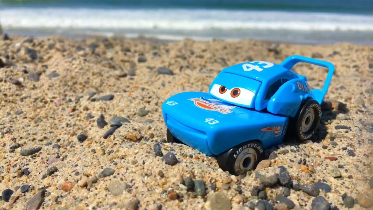 Disney Pixar Cars Toys Lightning Rayo Mcqueen Dinoco Carros Juguetes