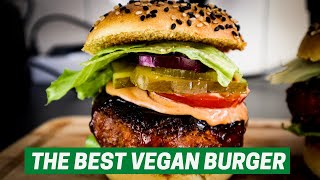 THE MOST DELICIOUS VEGAN BURGER (Gluten-Free)