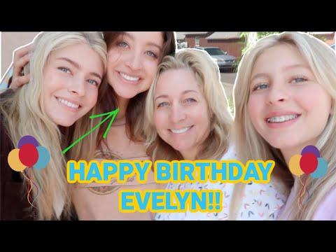 EVELYNS BIRTHDAY!