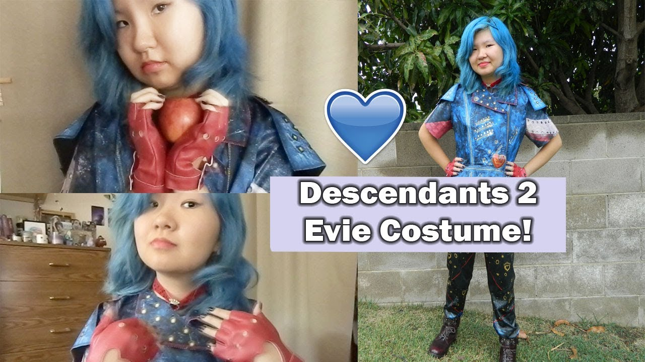 Evie Descendants 2 Hair And Makeup | Makeupview co