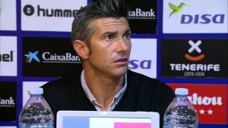 Rueda de prensa de Pep Lluís Martí tras el CD Tenerife (2-1) RCD Mallorca