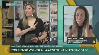 Natalia Cometto, otra ex novia golpeada por el joven empresario