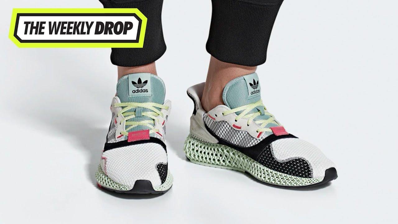 best cheap 3835c 5995b Adidas Consortium ZX4000 4D Australian Sneaker Release Info  The Weekly Drop