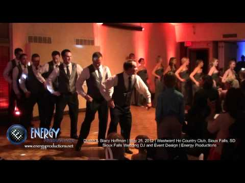 Wedding Party Surprises Bride and Groom with EPIC Dance