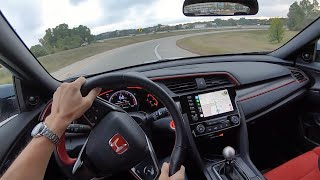 2019 Honda Civic Type R - POV Test Drive (Binaural Audio)