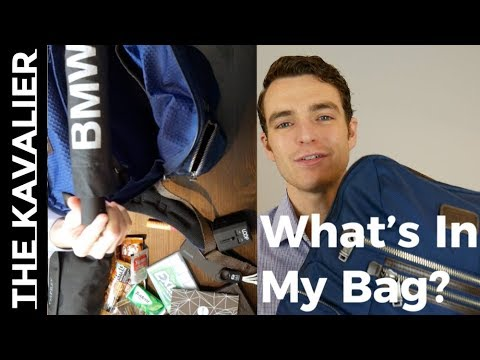My Bag EDC - Diving Into My Tumi Backpack | Everyday Carry Breakdown