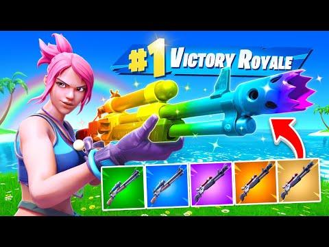 Rainbow Charged Shotgun Challenge!