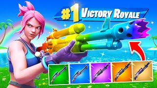 Rainbow Charged Shotgun Challenge!