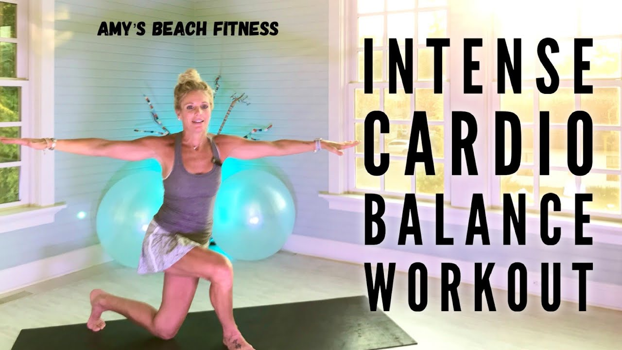 Intense Cardio Balance Workout - 25 Minutes