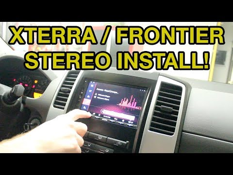 Nissan Xterra / Frontier Stereo Install - ATOTO A6