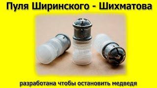 Пуля Ширинского Шихматова, способна остановить медведя