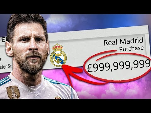 ACCEPTING EVERY TRANSFER OFFER CHALLENGE WITH REAL MADRID! FIFA 18 Career Mode