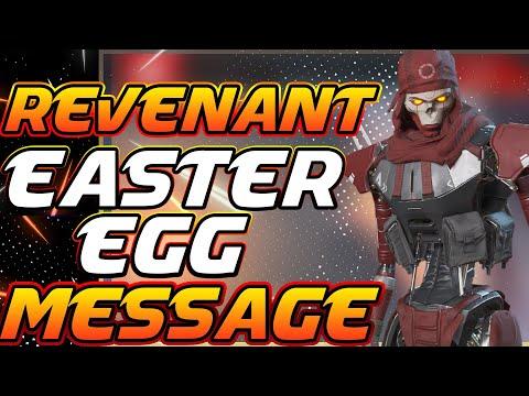 Revenant Secret Message To All Legends (Easter Egg) - APEX LEGENDS Season 4
