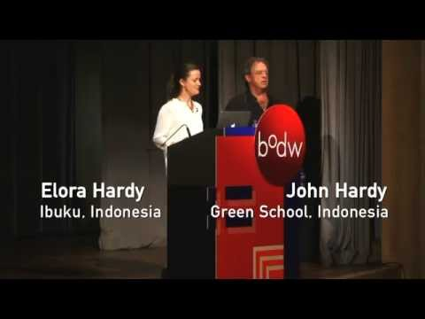[BODW 2012 | Design for Society] John Hardy & Elora Hardy