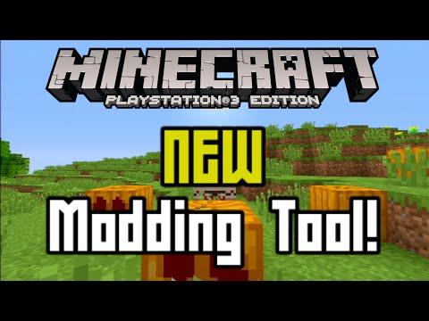Minecraft PS3 – New Modding Tool! TU25