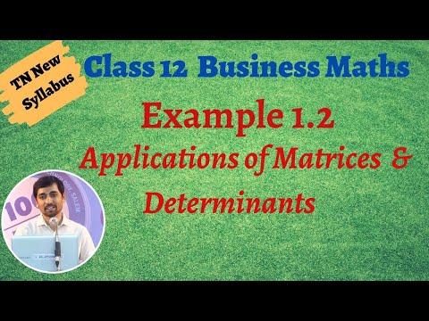 12th Standard Business Maths Videos (76)
