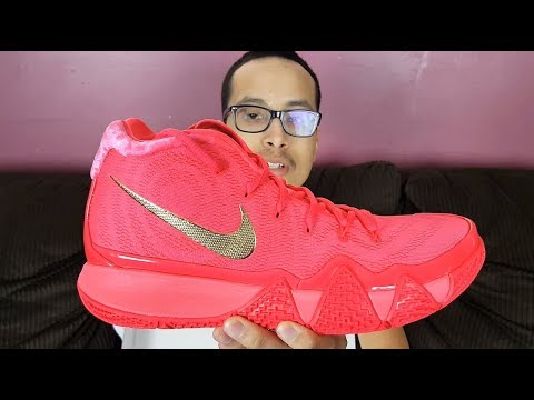 1cc3ed22396c64 Nike Is Releasing Sneakers Thru FB Messenger Now  Nike Kyrie 4 Red Carpet  Review!