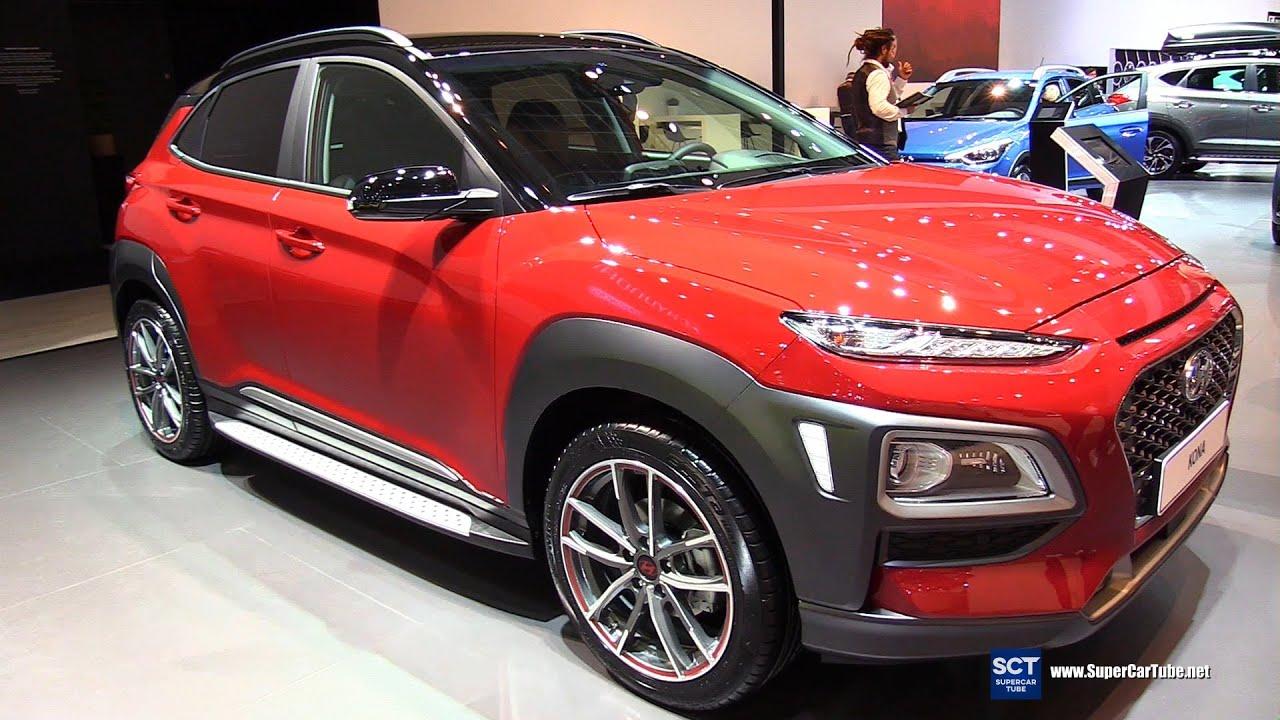 Khám phá xe Hyundai Kona tại triển lãm ô tô
