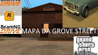 BeamNG Drive - GTA San Andreas MAPA DA