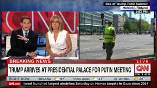"""Саммит Россия-США: """"братишка"""" Трамп прибыл на переговоры (16/07/2018)"""