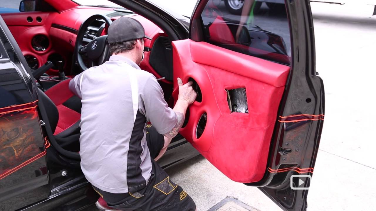 sharp trim customs car an auto repair shops in brisbane offering auto upholstery youtube. Black Bedroom Furniture Sets. Home Design Ideas