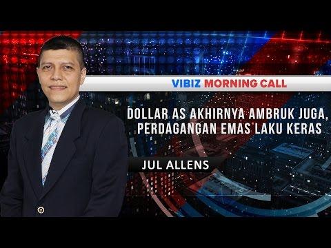 Dollar AS Akhirnya Ambruk Juga, Perdagangan Emas Laku Keras, Vibiznews 10 Agustus 2016