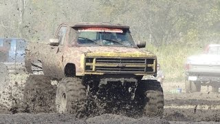MUD BOG! Zinger of a Day at TOWN Rd Mud Bog THE MOVIE!
