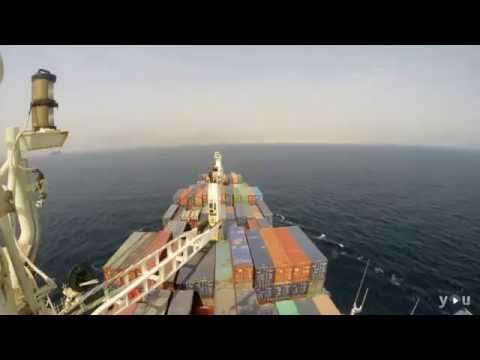 Vessel Approach to port in Khor Fakkan UAE