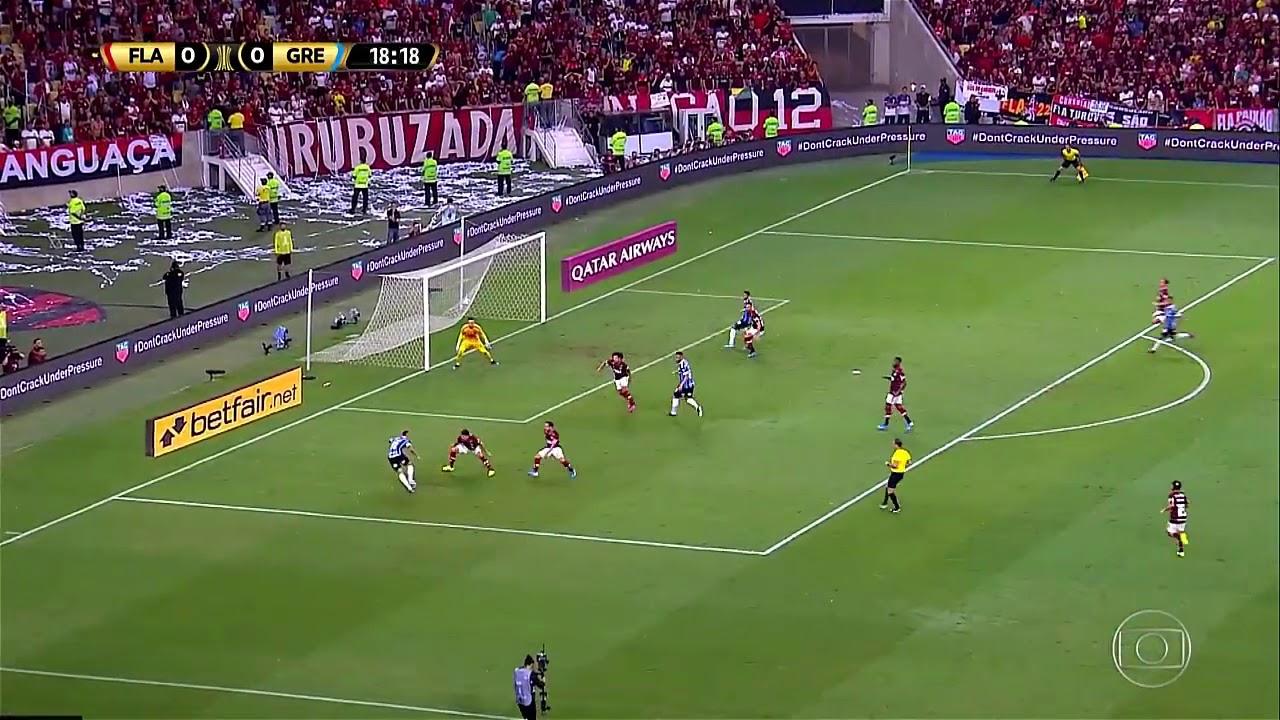 ATROPELOU E VAI PRA FINAL!! / Flamengo 5 x 0 Grêmio ...