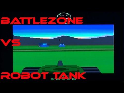 Battlezone Vs RobotTank: A Comparison. (Plus arcade Battlezone)
