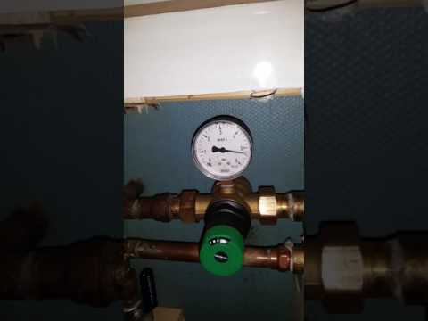 New reduction valve not able to keep the pressure part 1