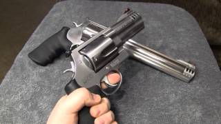 The king of revolvers .500 MAGNUM