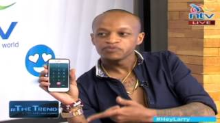 #theTrend: Prezzo's 999 unanswered as he ducks Huddah Monroe question