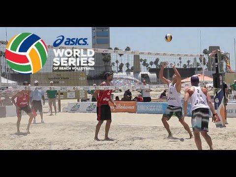 2015 ASICS WSOBV Long Beach Saymon & Guto BRA [32] vs. Alison & Bruno BRA [2]