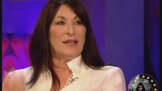 Anjelica Huston on Friday Night with Jonathan Ross pt 2