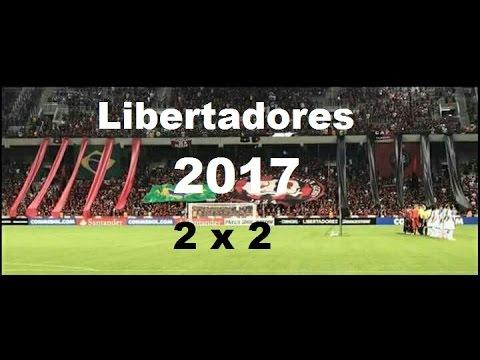 Atlético-PR 2 x 2 U. Católica - Libertadores 2017